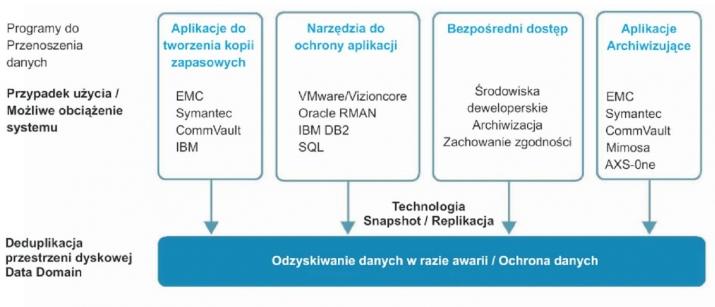 architektura i funkcje systemów data domain