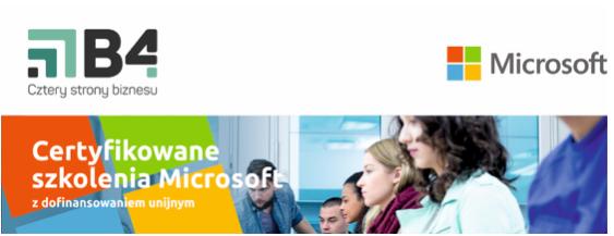 Szkolenia Microsoft - dofinansowanie