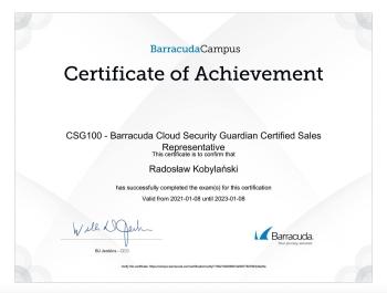 Radosław_Kobylański_BU100_Backup_Certified_Sales_Representative