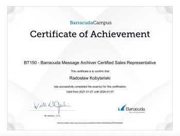 Radosław_Kobylański_CSG100_Cloud_Security_Guardian_Certified_Sales_Representative