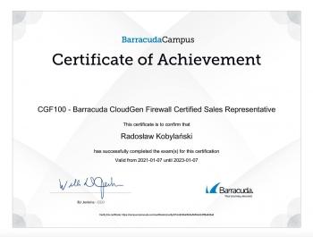 Radosław_Kobylański_BT150_Message_Archiwer_Certified_Sales_Representative