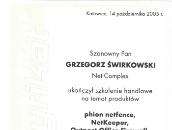 Nagrody i certyfikaty - zdjęcie68