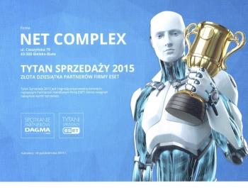Tytani Sprzedaży ESET 2015 dla Net Complex