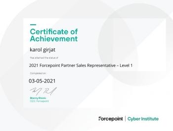Nagrody i certyfikaty - Karol Girjat
