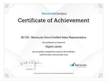 Olgierd_Jacher_BU100_Backup_Certified_Sales_Representative