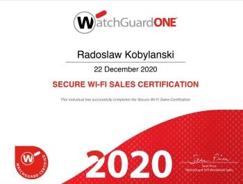 Radosław Kobylański - WatchGuard MFA Sales Certification