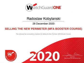 Radosław Kobylański - WatchGuard Selling the new perimeter (MFA booster course)