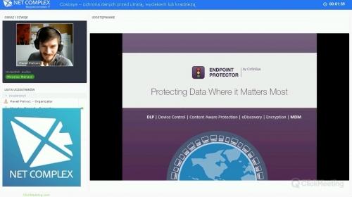 Prezentacja CoSoSys – ochrona danych przed utratą, wyciekiem lub kradzieżą