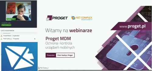 Proget MDM - ochrona i kontrola urządzeń mobilnych