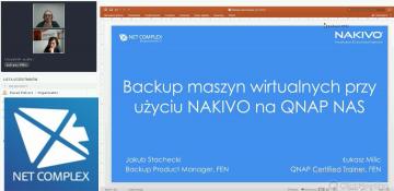 NAKIVO - wydajny i efektywny backup maszyn wirtualnych