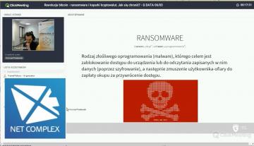 Webinar: Rewolucja bitcoin - ransomware i koparki kryptowalut. Jak się chronić? - G DATA