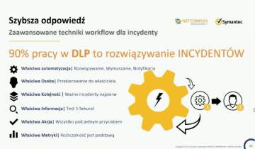 Webinar: Symantec DLP: Kompleksowe rozwiązanie - mniejszy współczynnik False Positive