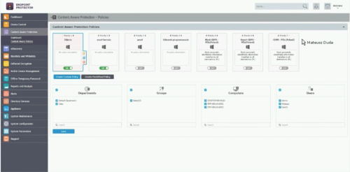 Cososys - łatwe i skuteczne narzędzie do ochrony danych