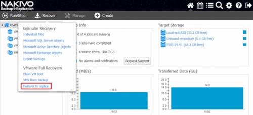Backup środowisk wirtualnych z Nakivo Backup & Replication