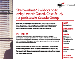 Case Study WatchGuard: Grupa Zasada
